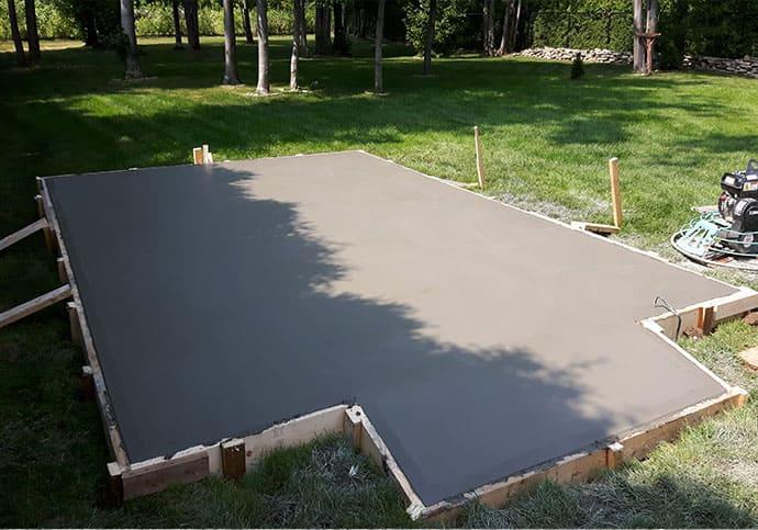finition dalle beton exterieure finition d 39 une dalle